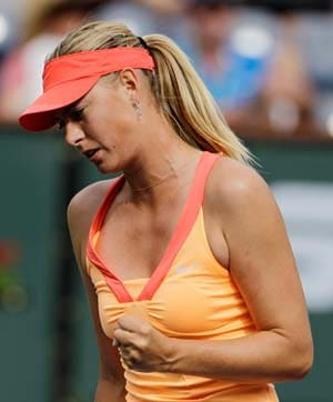 Sharapova beats Makarova at Madrid Open
