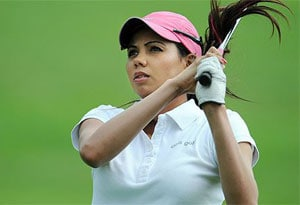 Sharmila Nicollet takes lead after first round in Hero Women's Professional Golf Tour