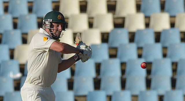 1st Test: Shaun Marsh century turns around first day for Australia