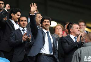Man City owner Sheikh Mansour tops Rich List
