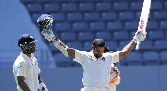 Live cricket score: Shikhar Dhawan