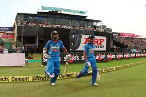 2nd ODI Live Cricket Score: Shikhar Dhawan and Rohit Sharma