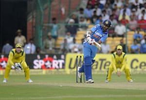 7th ODI Live Cricket Score: Shikhar Dhawan