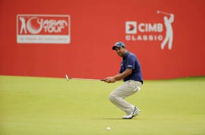Shiv Kapur tied 13th after second round at CIMB Classic