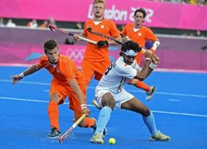 London 2012 Hockey: India fight hard but lose against Netherlands