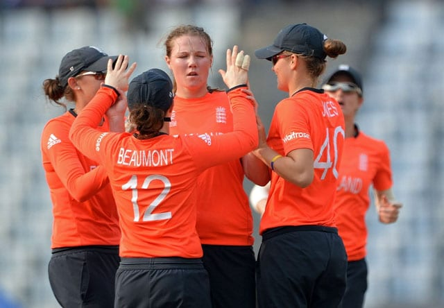ICC World Twenty20: Anya Shrubsole named women's player of the tournament