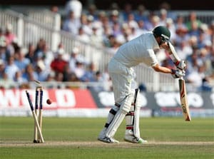The Ashes: Michael Clarke bemoans Aussie batting after Lord's rout