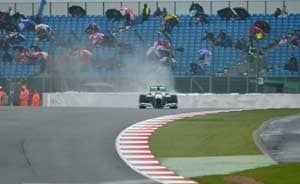 Stay at home: Silverstone to F1 fans after heavy rain