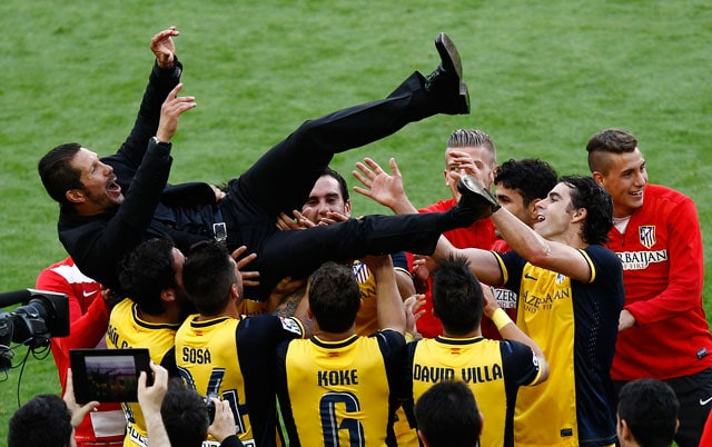 La Liga: Diego Simeone Hails One of Atletico Madrid's Greatest Days After Title Win
