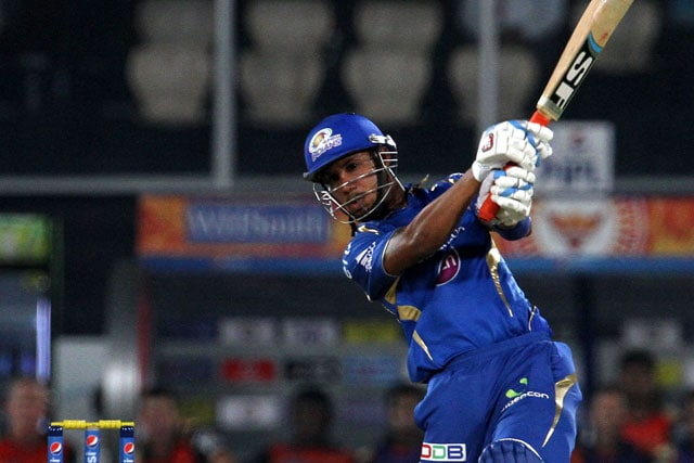 IPL 7: Lendl Simmons, Ambati Rayudu Script Mumbai Indians' 7-Wicket Win Over Sunrisers Hyderabad