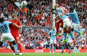 Manchester City fight to a 2-2 draw vs Liverpool