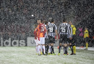 Champions League: Galatasaray v Juventus rescheduled after heavy snowfall