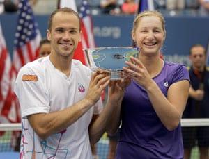 Soares, Makarova take US Open mixed doubles title
