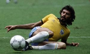 Former Brazil star Socrates on life support
