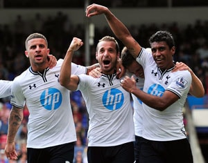 Roberto Soldado gives Tottenham 1-0 victory at Crystal Palace