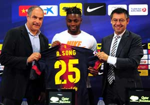 """Alex Song """"happy to join best team in the world"""""""
