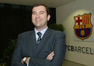 Manchester City hire Ferran Soriano as chief executive