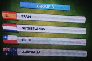 2014 FIFA World Cup: Defending champions Spain drawn with Netherlands, England handed tough group