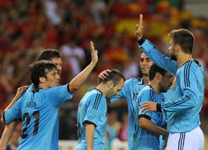 Spain leads FIFA rankings, Uruguay rises to No. 2