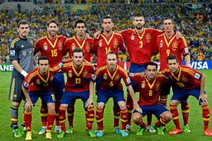 World champions Spain shocked by South Africa in friendly