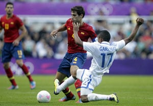 London 2012: Spain out of Olympic football tournament
