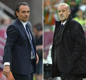 Euro 2012: Cool Prandelli will attack cautious Del Bosque