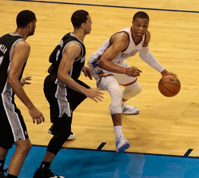 San Antonio Spurs Oust Oklahoma City Thunder, Ready for Rematch With Miami Heat in Finals