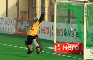 India goalkeeper PR Sreejesh