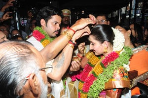S Sreesanth ties the knot with Jaipur princess in Kerala