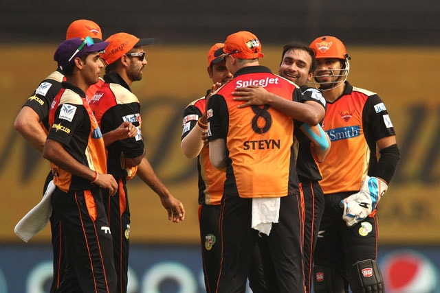 IPL 7: Sunrisers Hyderabad Beat Delhi Daredevils in Rain-Hit Match to Dent Play-off Chances