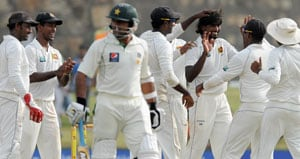Sri Lanka beat Pakistan in first Test