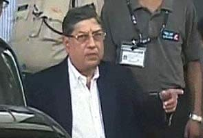 If someone wants to replace me as BCCI chief, let them get elected: N Srinivasan to NDTV