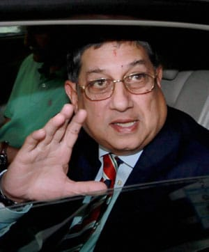 N. Srinivasan won't step down as BCCI president, says Shivlal Yadav