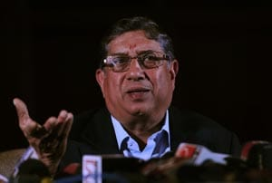 We don't censor commentators, says N. Srinivasan