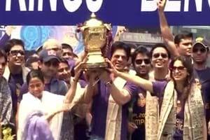 Kolkata celebrates Shah Rukh, KKR at Eden Gardens
