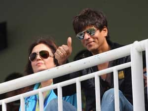 On or off shoot, Bollywood celebs catch India-Pakistan match