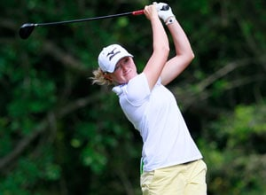World No. 1 Stacy Lewis aims for another major title