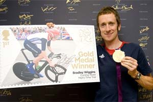 Going for gold: Royal Mail issues Olympian stamps