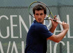 Starace advances to 2nd round of Swedish Open