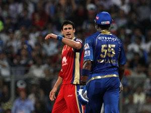 Indian Premier League: Kieron Pollard, Mitchell Starc Fined For On-Field Spat