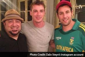 Lights, camera and Dale Steyn in action! Pacer in Hollywood