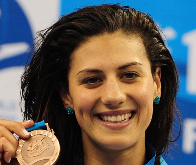 Stephanie Rice, Olympic champion, retires from swimming