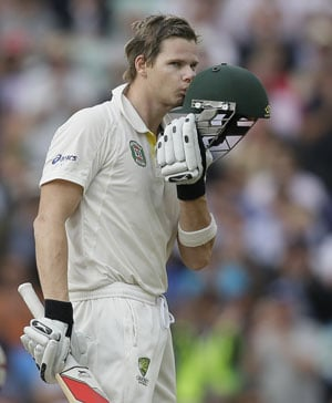 The Ashes 5th Test: Ton-up Steve Smith strengthens Australia's grip