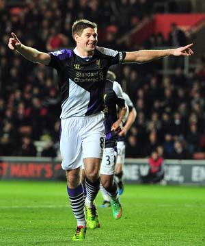 EPL: Rampant Liverpool outclass Southampton to move into second position