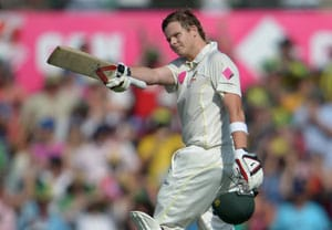 The Ashes: Steve Smith relishes home ton to tilt final Test to Aussies