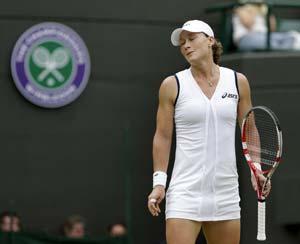 Samantha Stosur suffers more Wimbledon woe