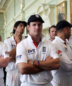 Calm exit sums up England's Andrew Strauss