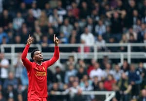Daniel Sturridge rescues one point for Liverpool at Newcastle