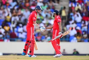 England defeat West Indies by 3 wickets in tense 2nd ODI