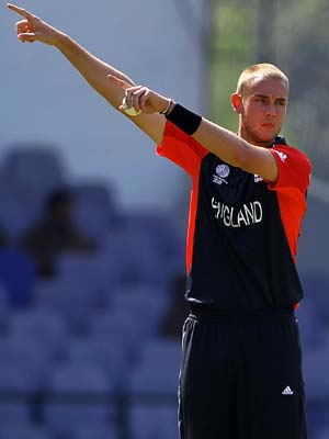 Broad fined 50 per cent for offensive remarks